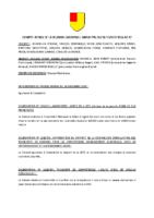 compte rendu du conseil municipal du 26 février 2016