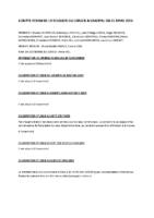 compte rendu du conseil municipal du 25 mars 2016