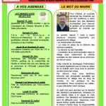 Nouvelles d'Anstaing n°01