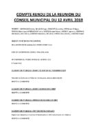cr cm 12-04-18 compte rendu du conseil municipal du 12 avril 2018